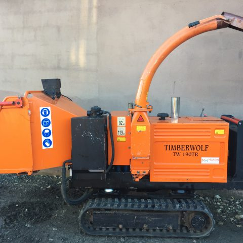 Timberwolf TW190TR Woodchipper
