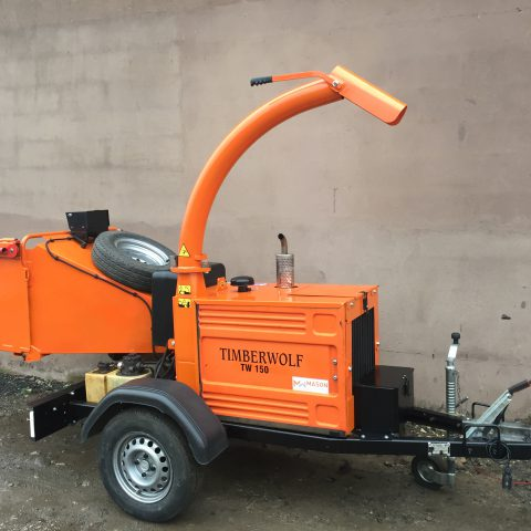 Timberwolf TW 150 DHB Woodchipper