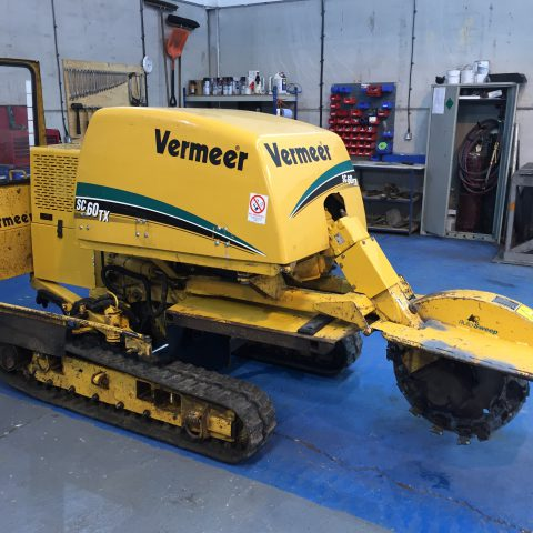 Vermeer SC60TX Stump Grinder