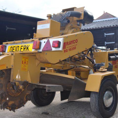Rayco RG1635 Stump Grinder
