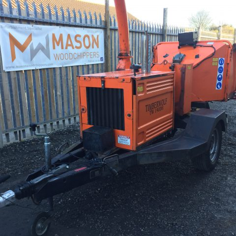 Timberwolf TW190DHB Woodchipper